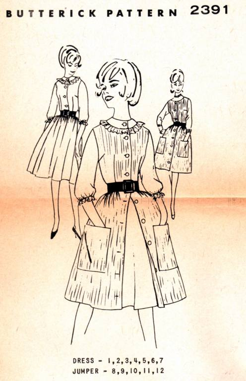 witness2fashion com - Patterns Early 1960's